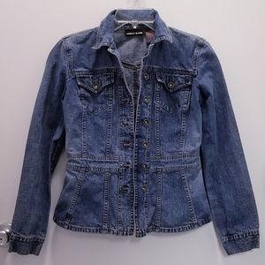 DKNY Jeans Medium Wash Jean Jacket